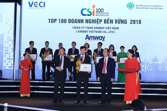 Amway Việt Nam năm thứ 4 liên tiếp phát hành báo cáo trách nhiệm xã hội ảnh 2