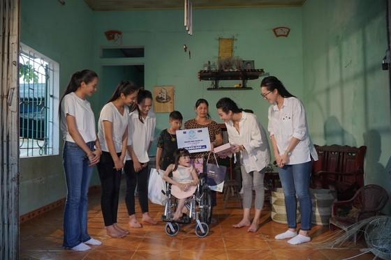 Các thí sinh Hoa Hậu Thế Giới VN 2019 tham gia đồng hành cùng hành trình Người Đẹp Nhân Ái