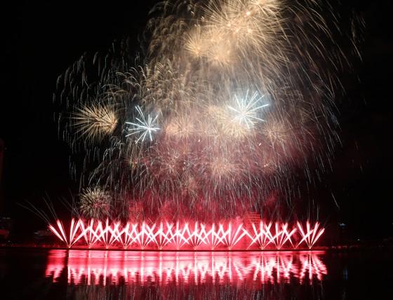 Rực sáng sông Hàn với màn trình diễn ấn tượng của hai đội Thụy Điển và Bồ Đào Nha ảnh 2