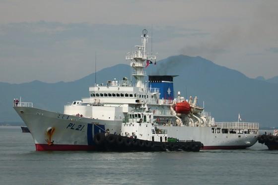Tàu Bảo vệ bờ biển Nhật Bản cập cảng Tiên Sa, thăm chính thức Đà Nẵng ảnh 1