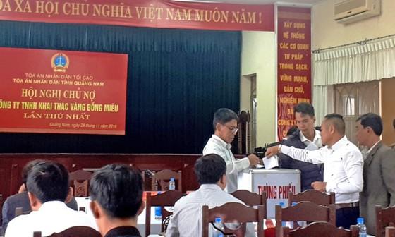 Công ty vàng Bồng Miêu chính thức phá sản ảnh 1