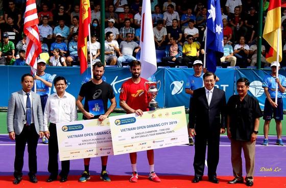 Marcel Granollers trở thành nhà vô địch đơn nam Giải quần vợt quốc tế Vietnam Open Danang City 2019