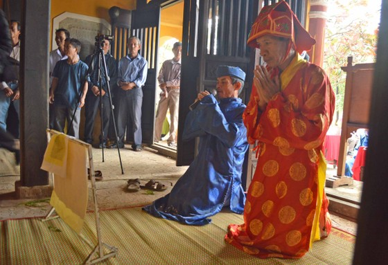 Sôi động giỗ Tổ nghề mộc Kim Bồng ảnh 1