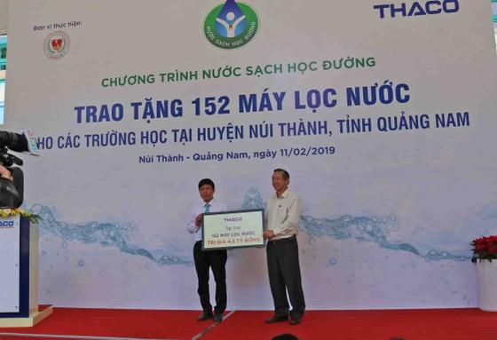 4,5 tỷ đồng mua máy lọc nước trao tặng cho 49 trường học huyện Núi Thành   ảnh 3