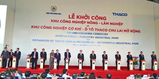 Thủ tướng Nguyễn Xuân Phúc tham dự lễ khởi công nhiều dự án ở Quảng Nam  ảnh 3