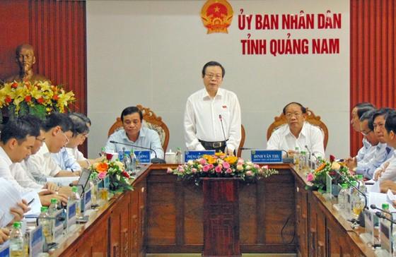 Quảng Nam cần tập trung xây dựng tỉnh công nghiệp ảnh 1