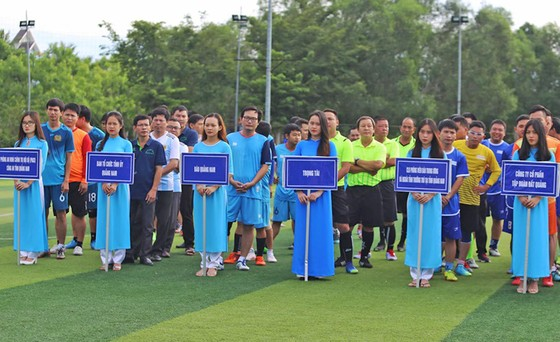 Sôi nổi giải bóng đá báo chí thường trú tại Quảng Nam lần thứ II  ảnh 1