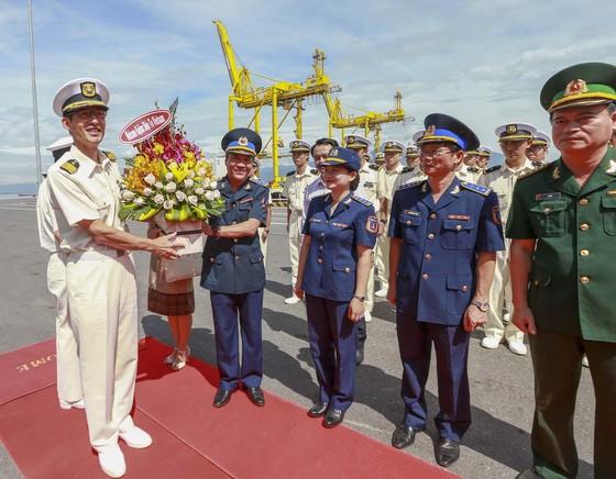 Tàu Lực lượng Bảo vệ bờ biển Nhật Bản - Kojima cập cảng Tiên Sa ảnh 1