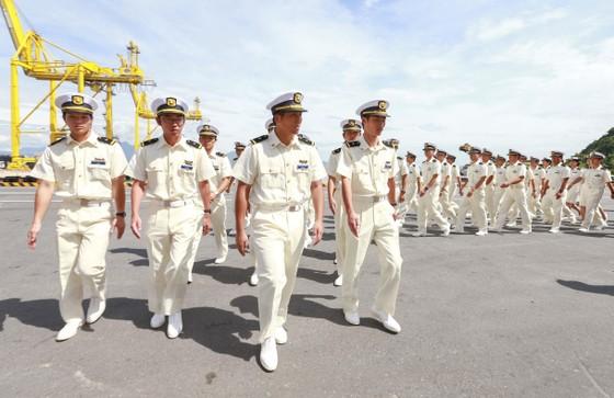 Tàu Lực lượng Bảo vệ bờ biển Nhật Bản - Kojima cập cảng Tiên Sa ảnh 3
