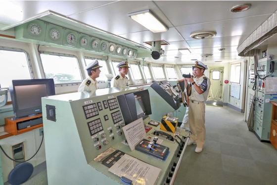 Tàu Lực lượng Bảo vệ bờ biển Nhật Bản - Kojima cập cảng Tiên Sa ảnh 4