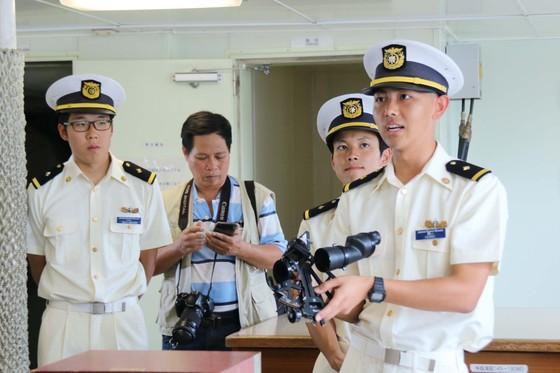 Tàu Lực lượng Bảo vệ bờ biển Nhật Bản - Kojima cập cảng Tiên Sa ảnh 5