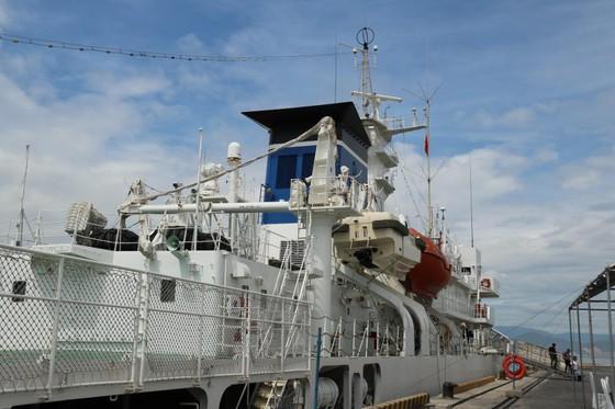 Tàu Lực lượng Bảo vệ bờ biển Nhật Bản - Kojima cập cảng Tiên Sa ảnh 6
