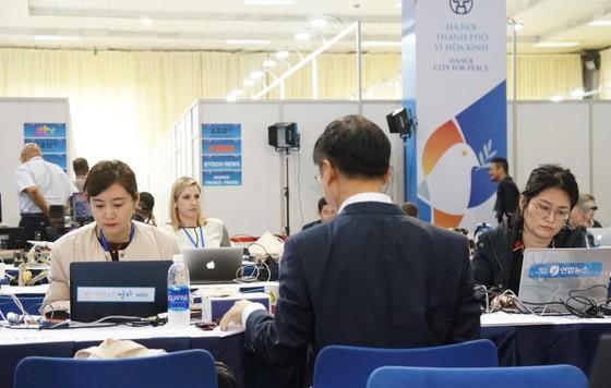 Điều gì đang diễn ra ở Trung tâm Báo chí quốc tế? ảnh 11