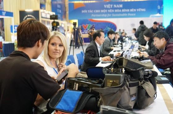 Điều gì đang diễn ra ở Trung tâm Báo chí quốc tế? ảnh 5