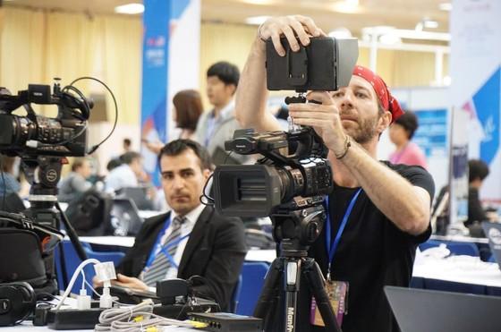 Điều gì đang diễn ra ở Trung tâm Báo chí quốc tế? ảnh 6