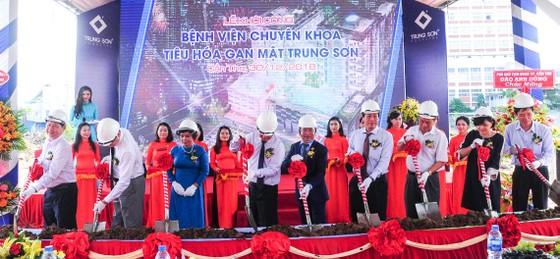 Khởi công xây dựng Bệnh viện chuyên khoa Tiêu hóa gan mật đầu tiên tại Việt Nam ảnh 1