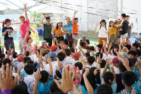 Ngày hội vui chơi hè dành cho trẻ em các mái ấm ảnh 1