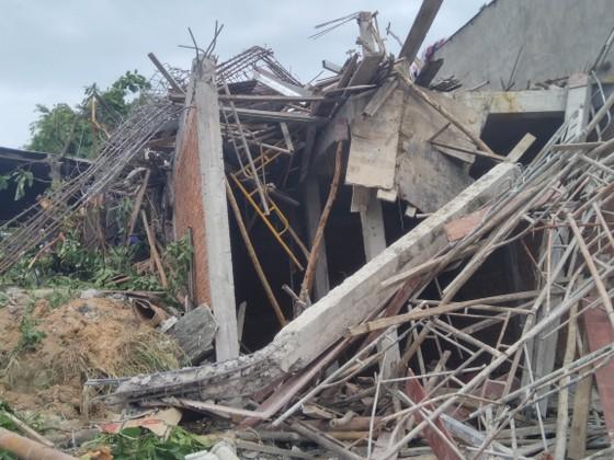 Sập giàn giáo ở đảo Phú Quốc 5 người thương vong ảnh 1