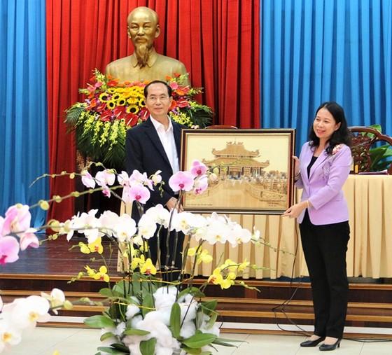 Chủ tịch nước Trần Đại Quang: An Giang có tiềm năng, lợi thế để phát triển thành tỉnh giàu ảnh 2