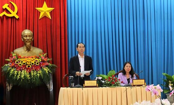 Chủ tịch nước Trần Đại Quang: An Giang có tiềm năng, lợi thế để phát triển thành tỉnh giàu ảnh 1