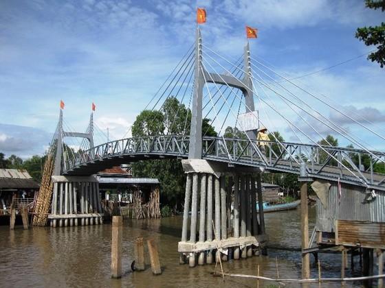 Huy động 339 tỷ đồng xây dựng cầu nông thôn ở An Giang ảnh 1
