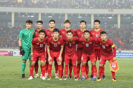 Đội tuyển Việt Nam sẽ tham dự King's Cup 2019. Ảnh: MINH HOÀNG