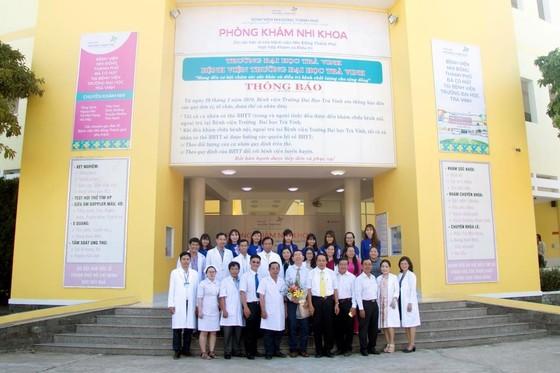 Bệnh viện Nhi đồng Thành phố mở phòng khám Nhi tại Trà Vinh ảnh 1