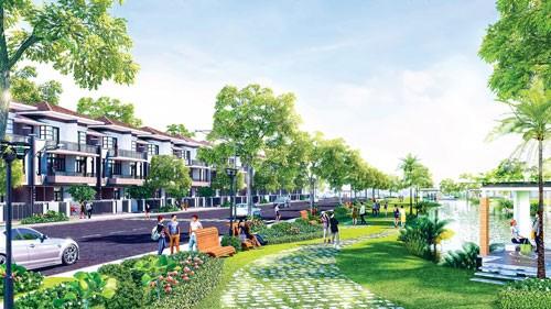 Sức hút dự án biệt thự phố vườn LAVILA ảnh 1