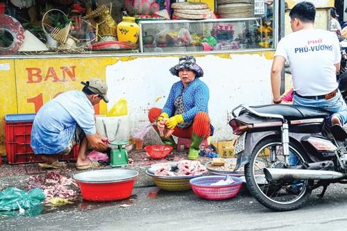 An toàn thực phẩm từ chợ tạm ảnh 6