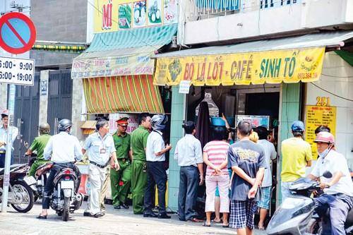 An toàn thực phẩm từ chợ tạm ảnh 3
