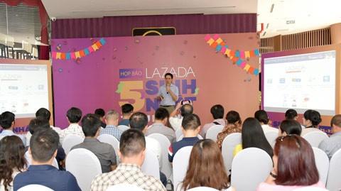 Lazada kỷ niệm 5 năm hoạt động tại VN ảnh 1