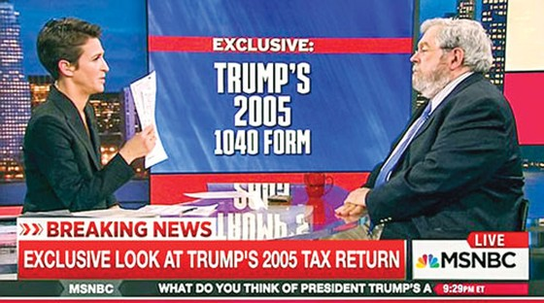 Lộ hồ sơ thuế Tổng thống Trump ảnh 1