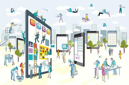 Chiếc smartphone và nền kinh tế số ảnh 1