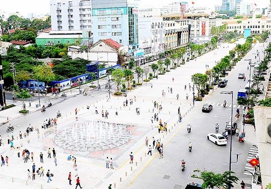 Xây dựng khu phố đi bộ ở trung tâm TPHCM 221ha ảnh 1