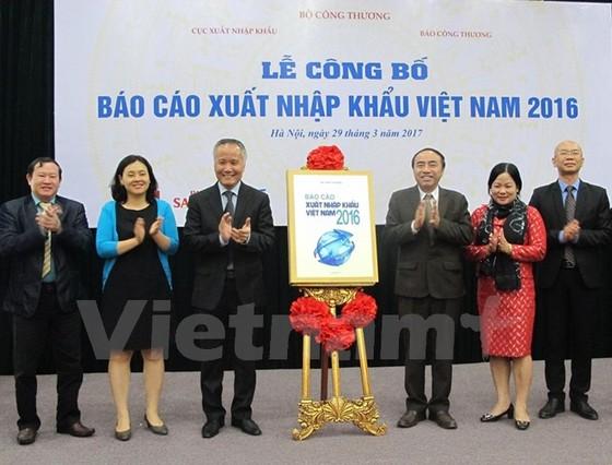 Công bố báo cáo xuất nhập khẩu Việt Nam 2016 ảnh 1