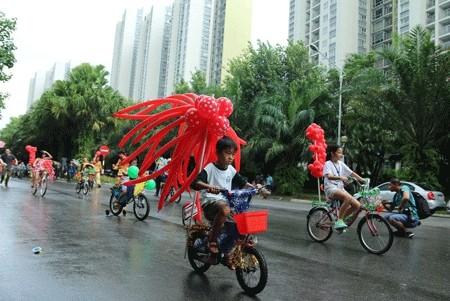 Lễ hội hóa trang xe đạp ảnh 4