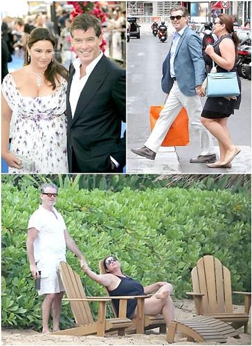 Chuyện tình Pierce Brosnan với vợ 'ngoại cỡ' ảnh 1