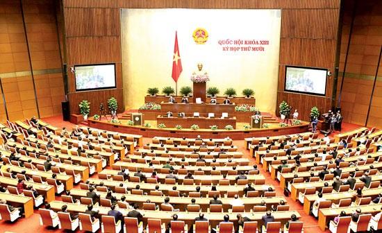Bế mạc Quốc hội: Thông qua nhiều luật ảnh 1
