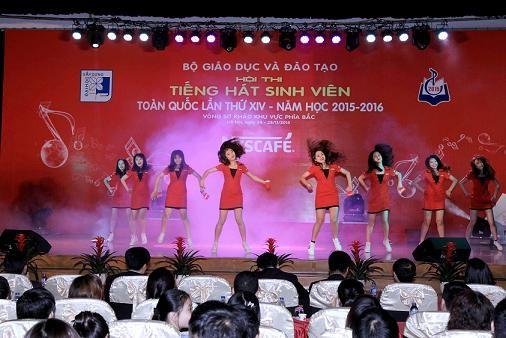 Hội thi Tiếng hát sinh viên toàn quốc lần thứ XIV ảnh 1