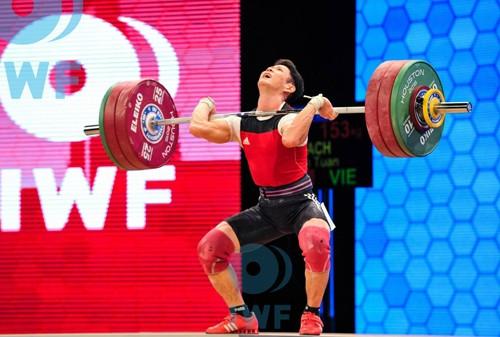 Cử tạ Việt Nam giành ba vé dự Olympic 2016 ảnh 1