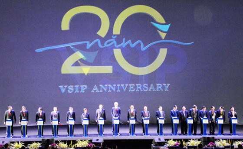 VSIP kỷ niệm 20 năm thành công tại Việt Nam ảnh 1