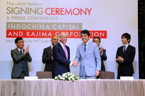 Indochina Capital liên doanh Tập đoàn Kajima ảnh 1