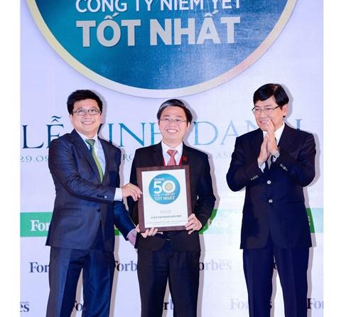 Hoa Sen Top 50 DN niêm yết tốt nhất 4 năm liền ảnh 1