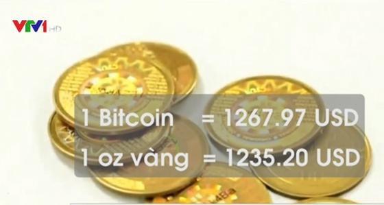 Bitcoin lần đầu vượt giá vàng ảnh 1