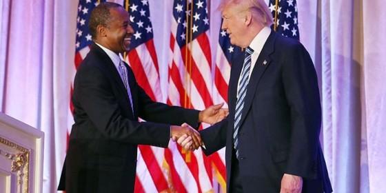 Bộ trưởng da màu đầu tiên của Trump ảnh 1