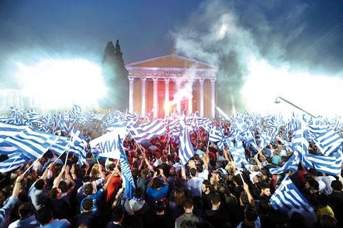 Châu Âu lo âu từ Hy Lạp ảnh 1
