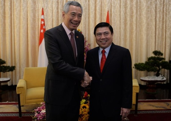Thủ tướng Lý Hiển Long thăm TPHCM ảnh 1