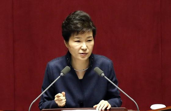 Tổng thống Hàn Quốc bị phế truất ảnh 1