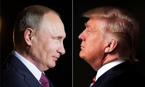 Putin và Trump - 2 người quyền lực nhất thế giới ảnh 1