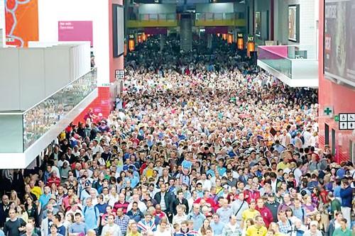 Visa ép khán giả Olympic ảnh 1